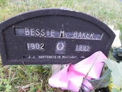 Bessie M Baker