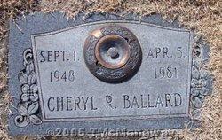 Cheryl R. Ballard