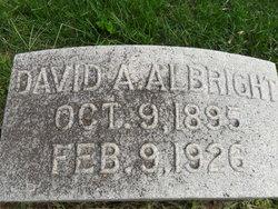 David Amos Albright