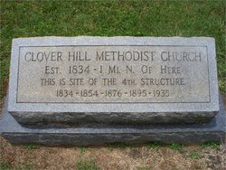 Clover Hill United Methodist Church Cemetery