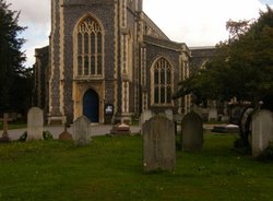 Wimbledon St Marys Churchyard