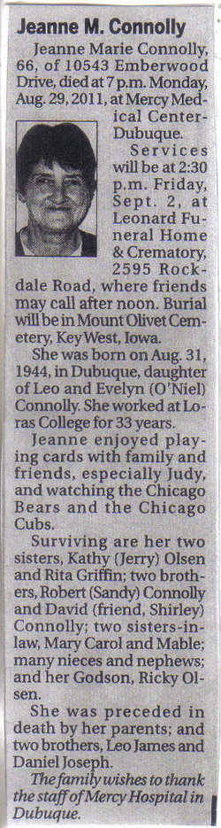Jeanne Marie Connolly