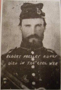 Pvt Elbert Preston Abney