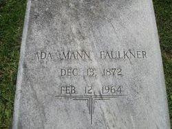 Ada <i>Mann</i> Faulkner