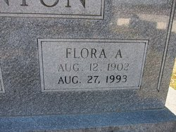 Flora <i>Atchley</i> Denton