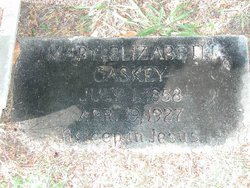 Mary Elizabeth <i>White</i> Caskey