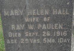 Mary Helen <i>Hall</i> Paulen