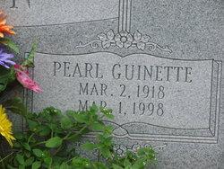 Pearl <i>Guinette</i> Hagin