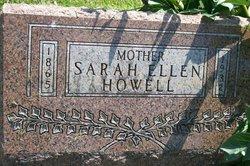 Sarah Ellen <i>Armstrong</i> Howell