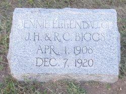 Jennie Ellen Biggs