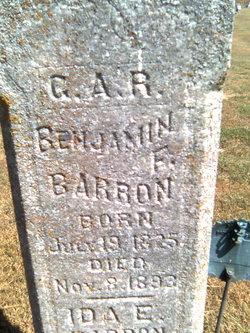 Benjamin Franklin Barron
