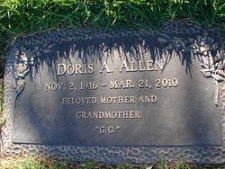 Doris Arlene <i>Dempey</i> Allen