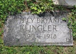 Emily B. <i>Bryant</i> Klingler