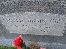 Annette <i>Hagin</i> Gay