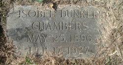 Isobel <i>Dunkle</i> Chambers