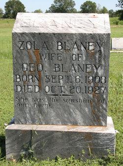 Zola R. <i>Henry</i> Blaney