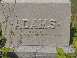 Annie H. <i>Brigham</i> Adams