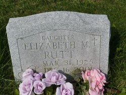 Elizabeth M. Betty Rutt