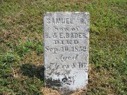 Samuel B. Bader