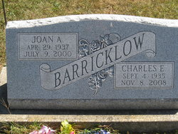 Joan A <i>Lane</i> Barricklow