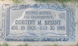 Dorothy M Bryant