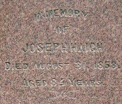 Joseph Haigh