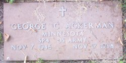 George C Ackerman