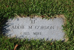 Mrs Addie M Gordon