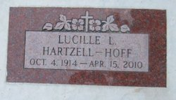 Lucille L <i>Anderson</i> Hartzell - Hoff