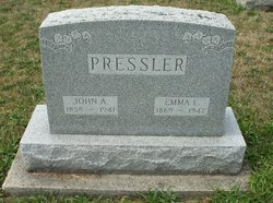 Emma E. <i>Cotterly</i> Pressler