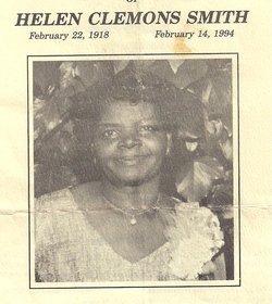 Helen <i>Clemons</i> Smith
