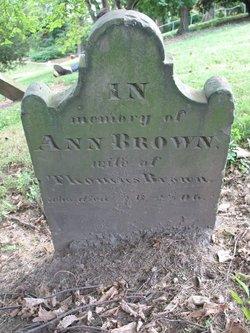 Ann <i>Mercer</i> Brown