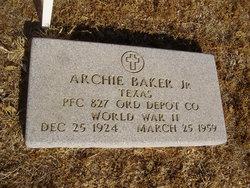 Archie Baker, Jr