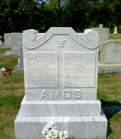 Martha Jane <i>Gann</i> Amos