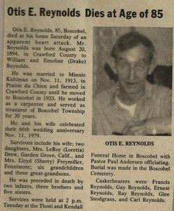 Otis E. Reynolds