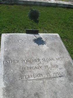 Esther Porcher <i>Sloan</i> McHugh