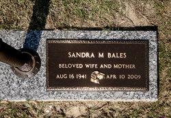 Sandra Elizabeth <i>Morris</i> Bales