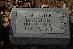 D Webster Bankston