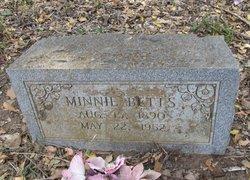 Minnie <i>Hines</i> Betts