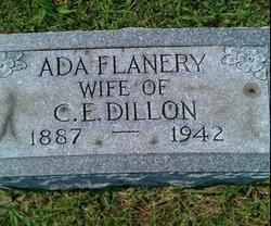 Ada <i>Flanery</i> Dillon