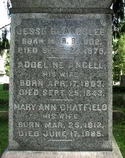 Mary Ann <i>Chatfield</i> Beardslee
