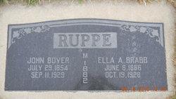 John Boyer Ruppe
