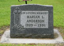 Marian L Anderson