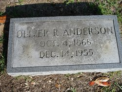 Oliver Rutherford Anderson