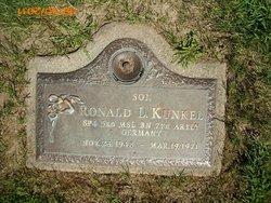 PFC Ronald L. Kunkel