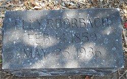 Electa Ann Clair Elly <i>Cassidy</i> Roorbach