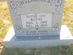 Fannie Lou Burns
