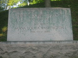 Anna Louisa <i>Washington</i> Davidge