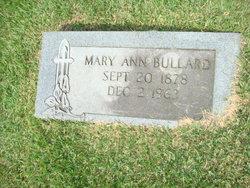 Mary Ann <i>Moran</i> Bullard