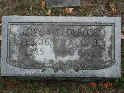 Loula Ellen <i>Hundley</i> DuBose